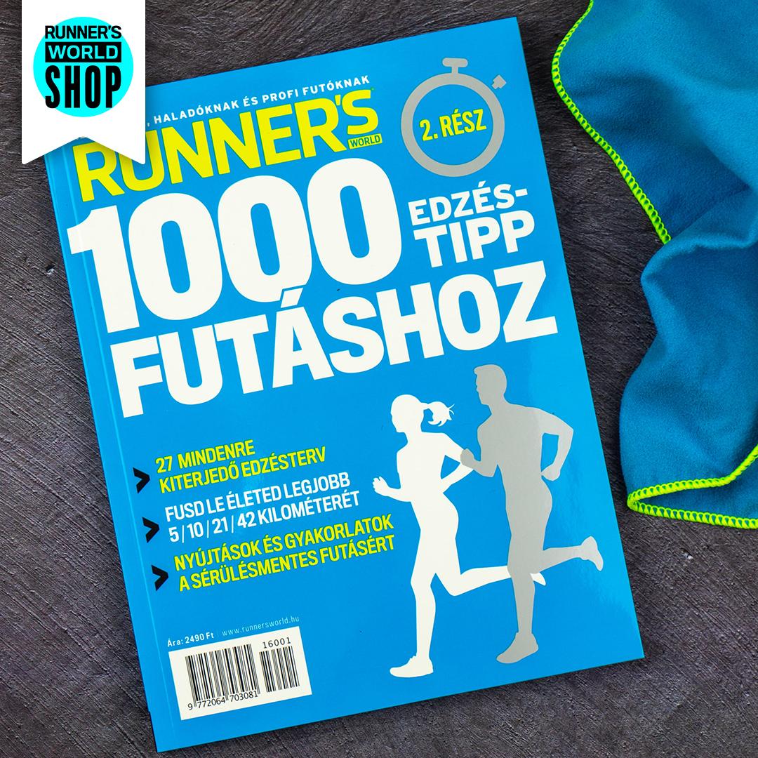 1000 Edzéstipp futáshoz