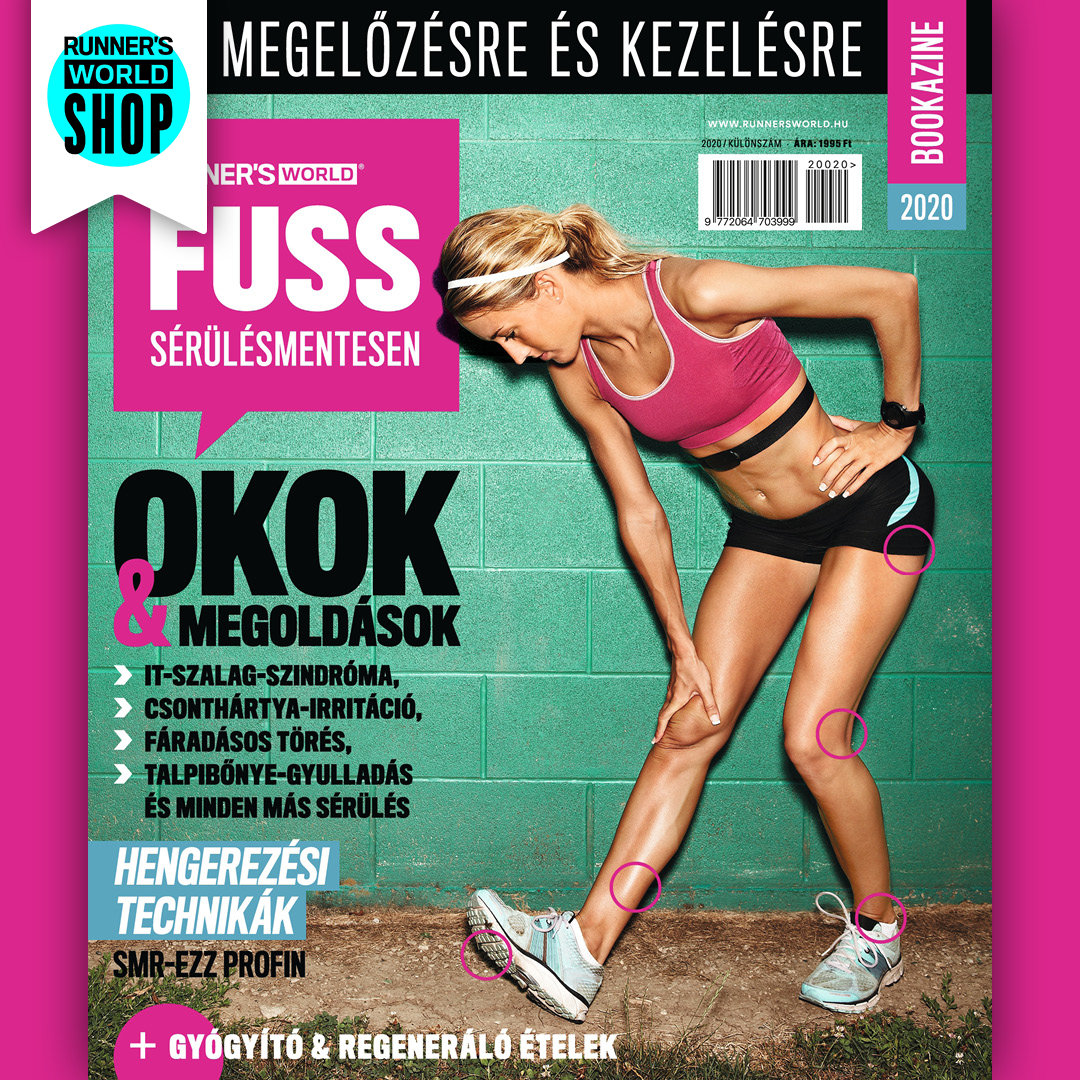 Runner's World Fuss Sérülésmentesen magazin