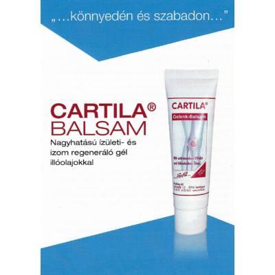 Cartila® Balsam regeneráló krém ízületre